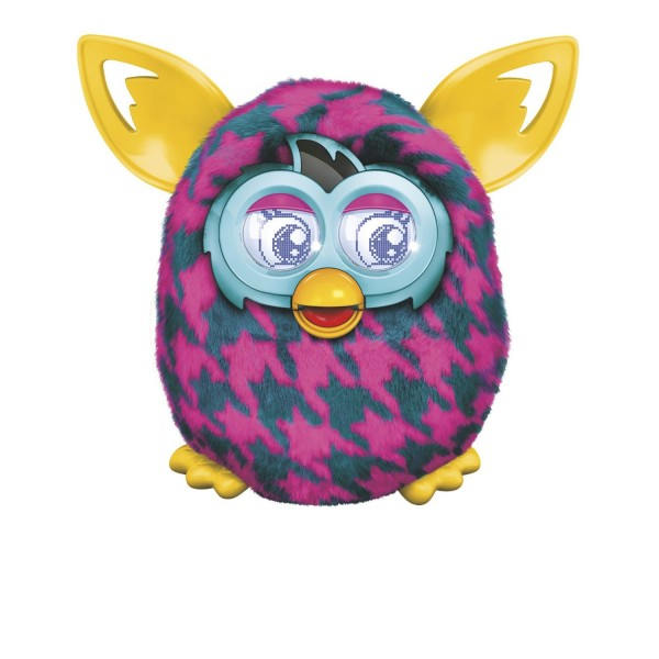 Furby Boom – Purple Houndstooth