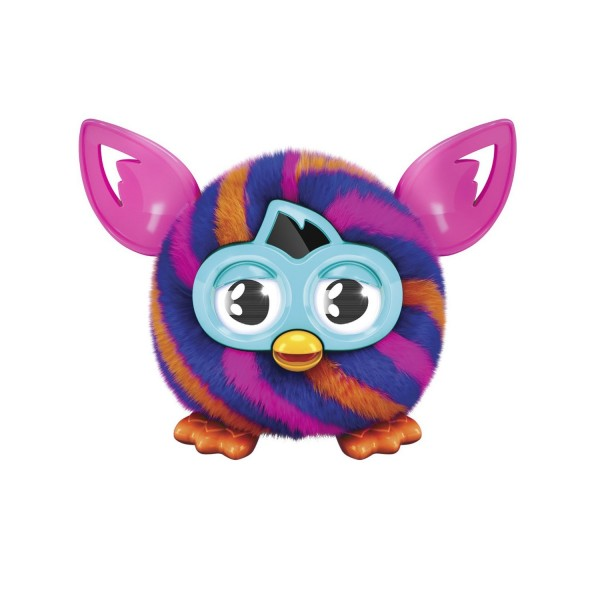 Furby Furbling – Orange and Blue Diagonal Stripes