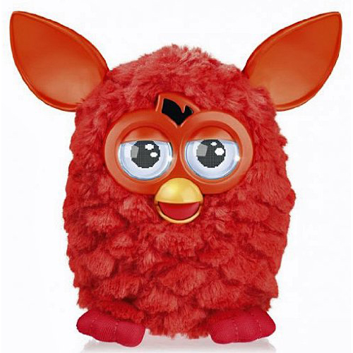 Furby-Orange-red